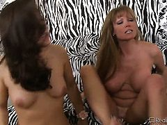 Ally Kay and hot dude Tommy Gunn enjoy sex too much to stop