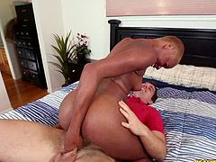 Reality Kings brings you a hell of a free porn video where you can see how this vicious ebony slut gets banged and creamed hard while assuming sensual positions.