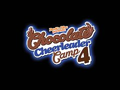 Devil's Film presents the Chocolate Cheerleader Camp 4 trailer and it features this playful ebony cheerleaders Kay Love, Armani Monae, Kira Noir and Lisa Tiffian as they got their tight black pussies fucked by big white cocks.