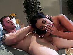 Ralph Long is horny and cant wait any longer to drill hot Sienna Wests beaver