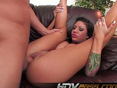 HDV Pass brings you a hell of a free porn video where you can see how the sexy brunette Mason Moore gets banged hard and deep into a massively intense orgasm.