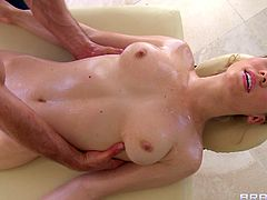 This is a nasty fuck and blowjob scene with a nasty hottie serving a huge cock and gets pussy hole drilled in hot orgasm.