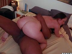 Black monster cock for apple ass white girl Lola Foxx