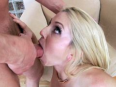 Christine Stevens loves how hard Mark Wood fucks her ass