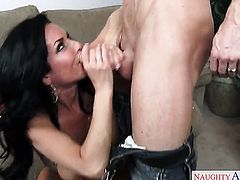 Ryan Mclane has a great time fucking Asian Veronica Avluv with huge hooters and shaved muff