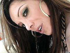 Prince Yahshua wants to drill breathtakingly beautiful Francesca Les back swing forever