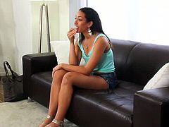 Naomi is ready to shed her innocence on the casting couch