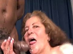 67yr horny mature x big black cock - 4 6