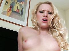 Lolita Taylor feels the best feeling ever with David Perrys stiff boner in mouth before butt fucking