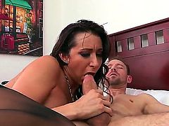 Kaylynn, Erik Everhard and Mick Blue in a great DP momfuck scene