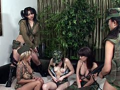 Visit official Sun Lust XXX's HomepageThere's nothing to please these hotties more than a naughty group masturbation scene to get their wet vags fully stimulated
