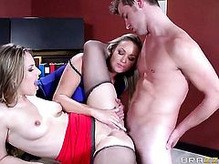 Abbey Brooks and Van Wylde have a lot of anal fun in anal porn action