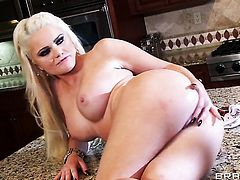 Alexis Ford fucking like a first rate whore in anal action with Jon Jon