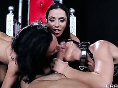 Johnny Sins has unthinkable sex with Chachita India Summer