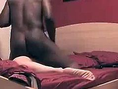 Scream and cray big black cock anal fuck
