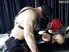 Horny pussy home anal