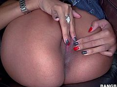 Jade Jantzen is a 2 year old sweet sexy girl with apple ass and tight pink pussy. Girl displays her nice perky boobs before she pulls off her skin tight jeans to play with herself in the backseat.