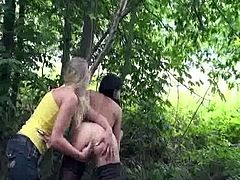 Smut Dabbler MILF fist banged by A highway