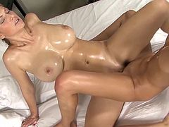 Visit official Lez Kiss's HomepageThese two sleazy lesbian babes, Silvie and Carol, are quite appealing by the way they make out and masturbate in this hot show