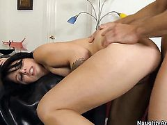 Johnny Castle plays with juicy Madelyn Monroes hole before he slams her hole with his throbbing rod
