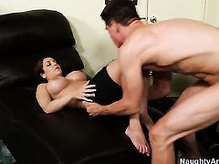 Kiera King shows off her sexy body while getting penetrated good and hard by Bruce Venture