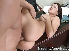 Billy Glide is one hard-dicked stud who loves fucking Ann Marie Rios