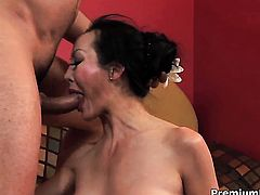 Asian Ange Venus just feels intense sexual desire and fucks interracially like mad