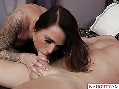 Juelz Ventura gets the fuck of her dreams with hard dicked guy Mark Wood
