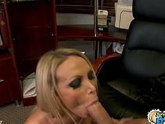 Bootylicious Nikki Benz invited her fresher to lick her trimmed pussy and fuck her til she cum multiple times. Who wouldn't want to be invited if your boss is like this?