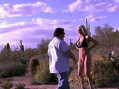 Naughty Allie gets naughty in the desert. It was a beautiful AZ day...what better to do than get naked and feel that awesome Arizona heat NUDE!!! She had on this super sexy two piece bikini ..but not for long. Pretty soon it ended up on the desert landscape. These photos are breathtaking, Allie looks so stylish, so glamorous and just bottom line..smoking hot!