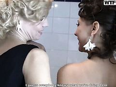 Blonde Marianna is horny as hell and fucks herself with her fingers with wild passion