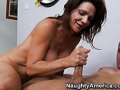 Danny Wylde gets pleasure from fucking Deauxma with gigantic melons and shaved twat