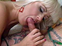 Holly loves to have fun with her men. That's why she decided to line up a nice surprise for Reed. She called a hot tranny Jessy Dubai home and decided to have a nice threesome. She gives Reed good and long blowjob, making sure he is hard and ready. The sexy tranny puts her own dick in Reed's mouth and then fucks his hot ass from behind.
