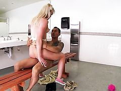 Good looking baby doll Zoey Paige is in heat in steamy oral action with hot guy