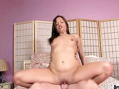 Ashlynn Leigh is hungry for hard fucking and gets used by hot dude
