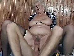 Woman on the bed frisky fuck guy