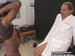 Insane Sex Doctor Electro SHOCKS Black Chick!