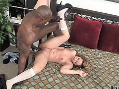 Rosalie Ruiz has blowjob experience of her lifetime with hard cocked dude