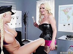 Summer Brielle is hungry for lesbian sex and gets used by Nikki Benz