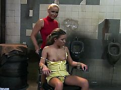 Blonde Kathia Nobili is a lesbian sex fuck addict that loves Bianca Ardens cunt so much