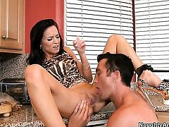 Billy Glide is one hard-dicked stud who loves fucking Carina Roman