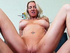 Cougar blonde emma starr screwed hard