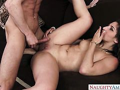 Ryan Mclane buries his erect snake in flirtatious Abella Dangers love box