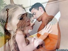 Ryan Driller is horny as hell and cant wait no more to drill with his hard cock