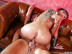 Latina Kayla Carrera with big tits gets some in steamy sex action with Keiran Lee