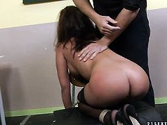 Angelica Heart is on the edge of nirvana with guys throbbing worm in her mouth