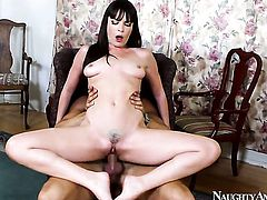 Danny Mountain pops out his sausage to fuck Oriental