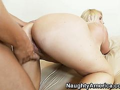 Rocco Reed cant resist attractive Karen Fishers acttraction and bangs her like crazy