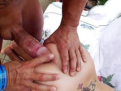 Nacho Vidal gets pleasure from fucking Sammie Spades in her love hole