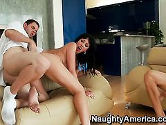 Alia Janine fucking like a first rate hoe in sex action with Ralph Long